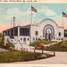 Forest Park Zoo in St. Louis, Missouri MO 1923 Vintage Postcard - 3836