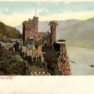 Rheinstein Castle in Germany Vintage Postcard - 3838