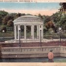 Band Stand in Roger Williams Park, Providence Rhode Island RI Vintage Postcard - 3878