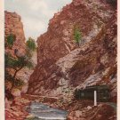 Inspiration Point, Clear Creek Canon Colorado CO Vintage Postcard - 3922