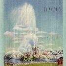 Buckingham Fountain in Grant Park, Chicago Illinois IL 1946 Linen Postcard - 0019