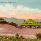Western Summit on the Mohawk Trail, Massachusetts MA Linen Postcard - 0037
