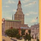 Travelers Tower in Hartford Connecticut CT 1940 Curt Teich Linen Postcard - 0048