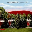 Mormon Tabernacle in Salt Lake City, Utah UT Linen Postcard - 0088