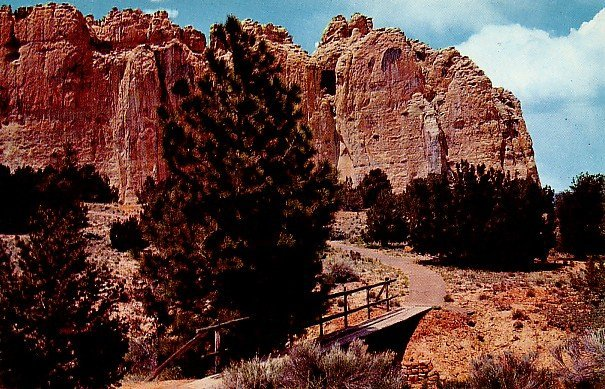 El Morro National Monument  near Gallup, New Mexico NM Postcard - 0100