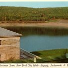 Merriman Dam in Lackawack New York NY Curt Teich Chrome Postcard - 0107