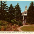 Floral Circle at Vassar College in Poughkeepsie NY, 1954 Curt Teich Postcard - 0116