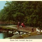Depew Park in Peekskill New York NY 1957 Curt Teich Chrome Postcard - 0117
