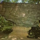 Pivot Rock near Eureka Springs in Arkansas AR Chrome Postcard - 0143
