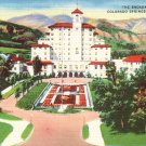 The Broadmoor Hotel in Colorado Springs CO Linen Postcard - 0146
