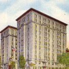Hotel Hamilton in Washington DC Linen Postcard - 0264