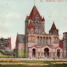 Trinity Church in Boston Massachusetts MA 1905 Vintage Postcard - 0316