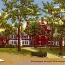 Williamsport Hospital in Pennsylvania Mid Century Linen Postcard - 0421