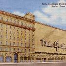 Titche Goettinger Department Store in Dallas Texas TX 1955 Curt Teich Linen Postcard - 0447
