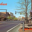 Main Street in Nashua New Hampshire NH Chrome Postcard - 0550