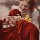 Raphael Tuck Vintage 1907 Postcard The Gentle Art of Making Love - 0615