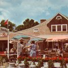 Barnacle Billys Restaurant at Perkins Cove in Ogunquit  Maine ME Chrome Postcard - 854