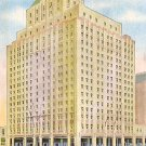 Hotel Manger at North Station in Boston, 1947 Massachusetts MA Linen Postcard - 0880