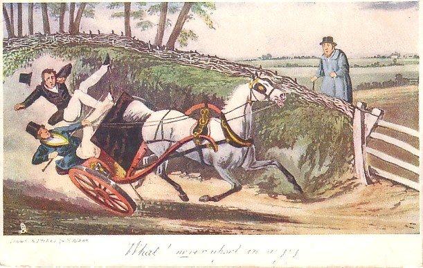 Raphael Tuck Olde Print Series Vintage Advertisement Postcard - 0892