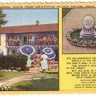 Lambert Gardens in Portland Oregon, 1949 Curt Teich Linen Postcard - 1089