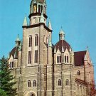 St. Francis Xavier Church at Nashua New Hampshire NH Chrome Postcard - 1290