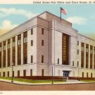 Unites States Post Office located in St. Joseph, Missouri MO 1939 Curt Teich Postcard - 1407