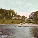 Bay View Hotel in South Brooksville Maine ME, Vintage Postcard - 1455