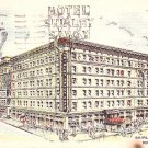 Shirley Savoy Hotel in Denver Colorado CO 1952 Postcard - 1579