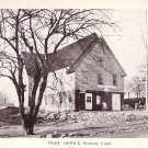 Post Office at Bantam Connecticut CT Vintage Postcard - 1702