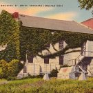 Old Commissary Building in Ft. Smith Arkansas AR, Mid Century Linen Postcard - 1716