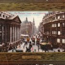 The Mansion House and Cheapside 1909 Raphael Tuck & Sons Postcard - 1732