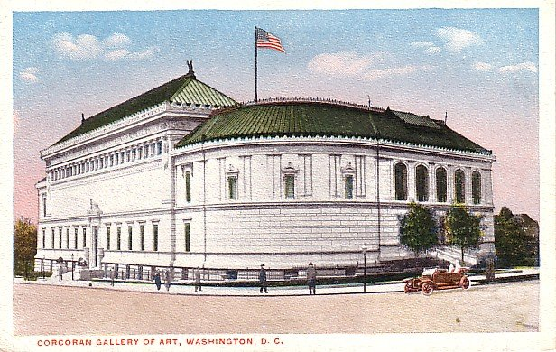 Corcoran Gallery of Art in Washington DC 1915 Vintage Postcard - 1755