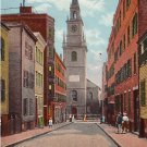 Old North, Christ Church in Boston Massachusetts MA Vintage Postcard - 1807