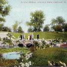 Rustic Bridge in  Lincoln Park, Chicago Illinois IL 1907 Vintage Postcard - 1808