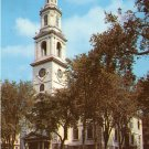First Baptist Church in Providence Rhode Island RI Chrome Postcard - 1867