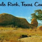 Whale Rock in Texas Canyon, Arizona AZ Petley Postcard - 1938