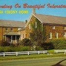 Amana Colony Home on Interstate 80 IA Chrome Postcard - 1940
