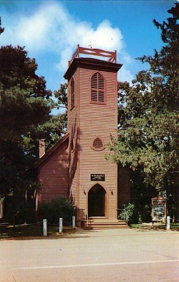 The Little Brown Church in the Vale located in Nashua Iowa IA Postcard - 1942