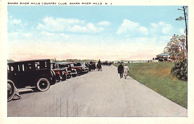Shark River Hills Country Club in New Jersey NJ Vintage Postcard - 1999