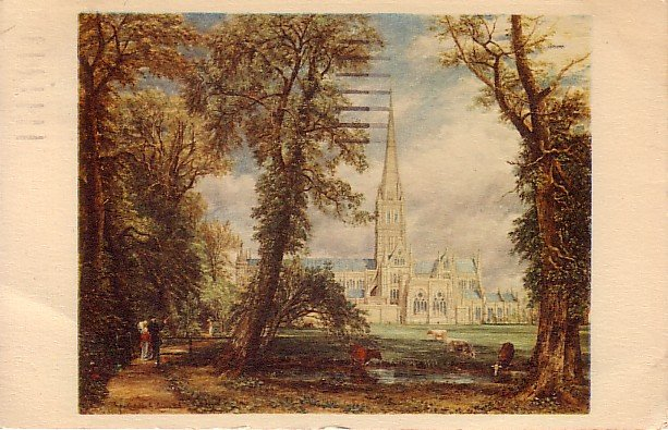 Salisbury Cathedral From Bishop's Garden United Kingdom Postcard - 2018