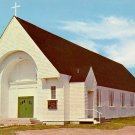 St. Marys Catholic Church in Wells Beach, Maine ME Chrome Postcard - 2038