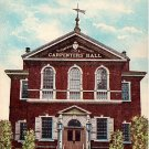 Carpenters' Hall in Philadelphia, Pennsylvania PA 1911 Vintage Postcard - 2058