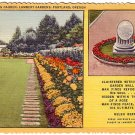Lambert Gardens Canyon Garden in Portland Oregon OR 1949 Curt Teich Linen Postcard - 2063