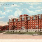 St Mary's Hospital in Rochester Minnesota MN, 1922 Vintage Postcard - 2146