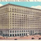 Wanamaker Store in Philadelphia, Pennsylvania PA Vintage Postcard - 2245