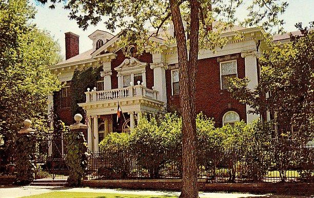 Colorado's Governor's Mansion in Denver CO, Chrome Postcard - 2288