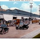 French Market in New Orleans Louisiana LA Vintage Postcard - 2291