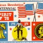 Spirit of '76, American Bicentennial 1976 Chrome Postcard - 2405