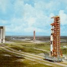 Apollo 4 Enroute to Pad A at Kennedy Space Center Florida FL 1972 Chrome Postcard - 2417