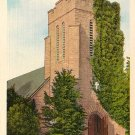 Episcopal Church in Brevard North Carolina NC Linen Postcard - 2491